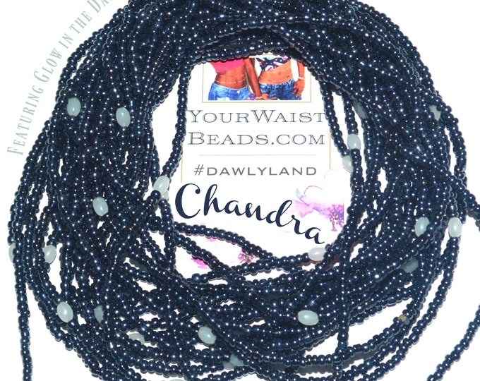 Chandra ~ Glow in the Dark Custom Waist Beads & More