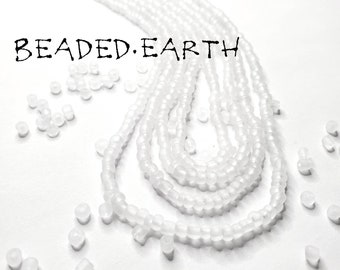 Ice • Frosty White Waist Beads & More