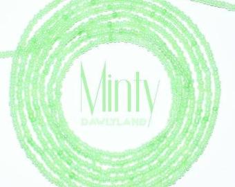 Minty • Premium Waist Beads