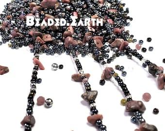 Cobra • Rhodochrosite Rhodonite • Waist Beads & More