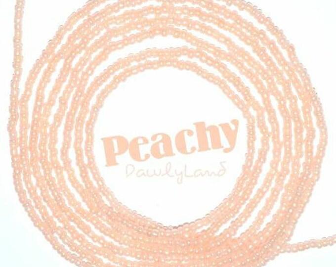 Peachy • Premium Waist Beads