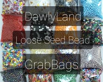 Loose Seed Beads ~ Grab Bags