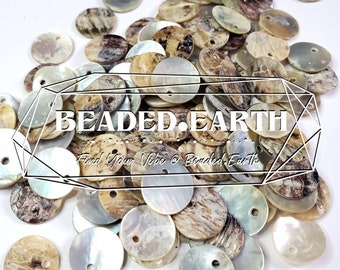Pearly Shell Charms