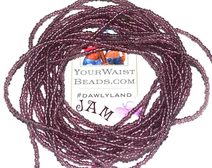 Jam ~ Purple Custom Waist Beads & More
