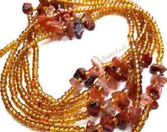 Amber • Carnelian Waist Beads & More