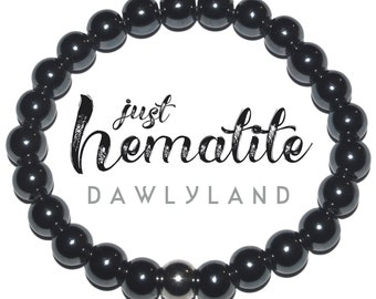Hematite • Premium Gemstone Bracelets