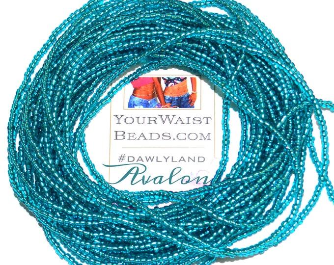 Avalon ~ Teal Custom Waist Beads & More
