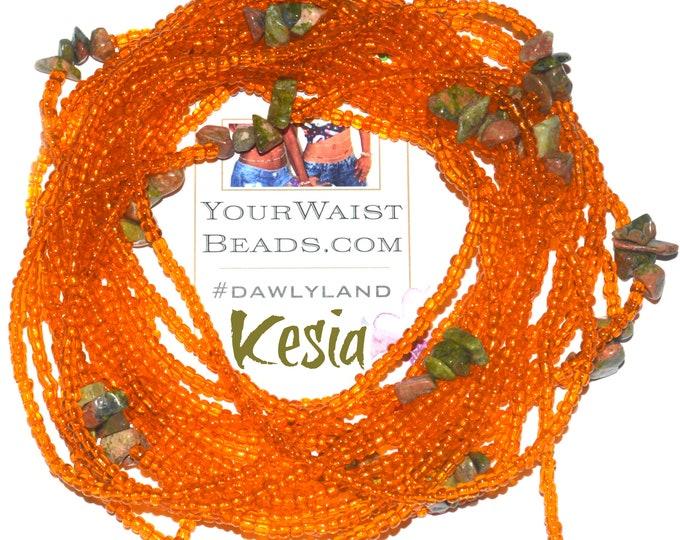 Kesia ~ Gemstone Waist Beads & More ~ with Unakite