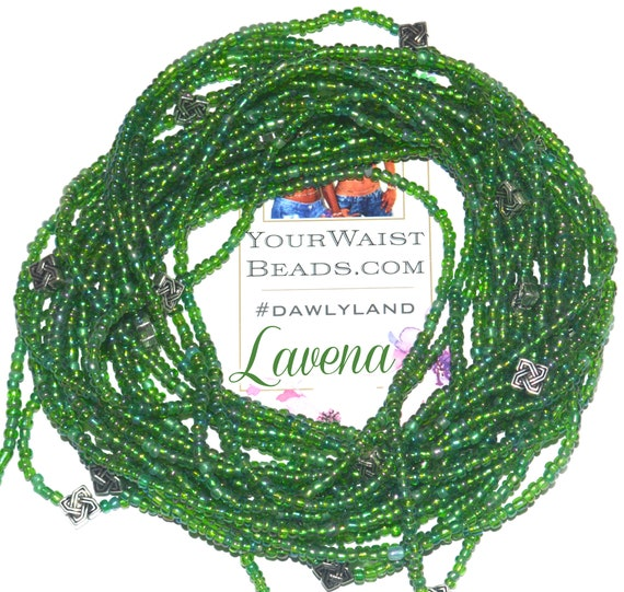 Lavena ~ Custom Waist Beads & More with Metal Accents