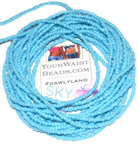 Waist Beads & More ~ Sky ~ Bracelet Anklet or #Beadkini