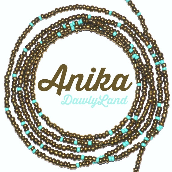 Anika ~ Custom Fit Waist Beads & Mega Wraps