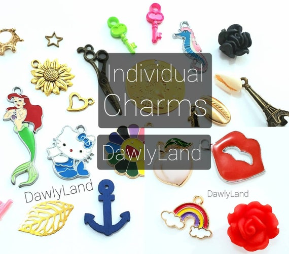 Colorful Charms • With or Without Clips