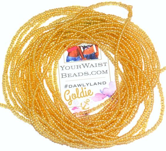 Waist Beads & More ~ Goldie ~ Bracelet Anklet or #Beadkini