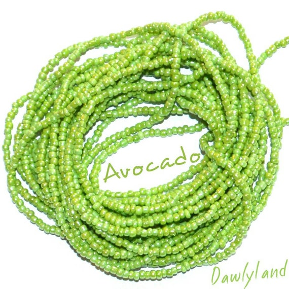 Avocado ~ Green Custom Waist Beads & More