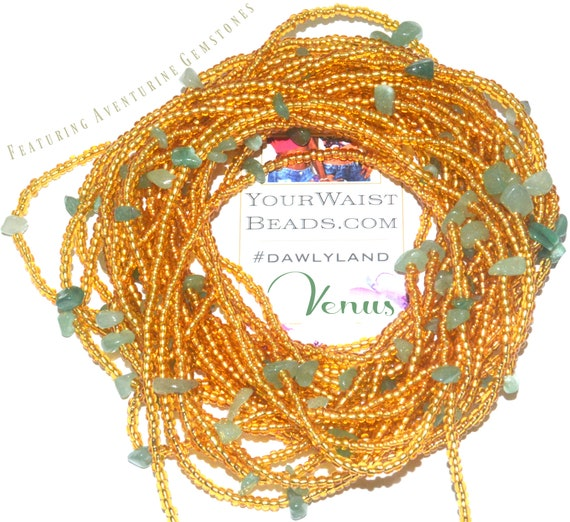 Venus ~ Gemstone Waist Beads & More ~ with Aventurine