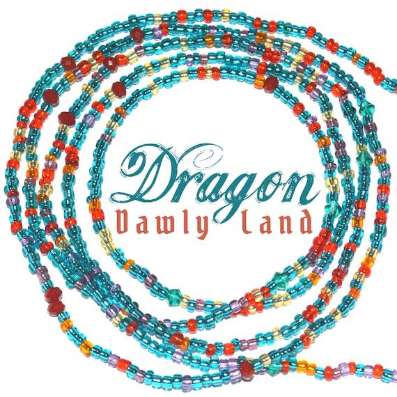 Dragon ~ Custom Fit Waist Beads & Mega Wraps