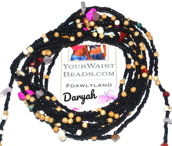 Waist Beads & More ~ Daryah ~ Bracelet or Anklet with Healing Gemstones LOW STOCK