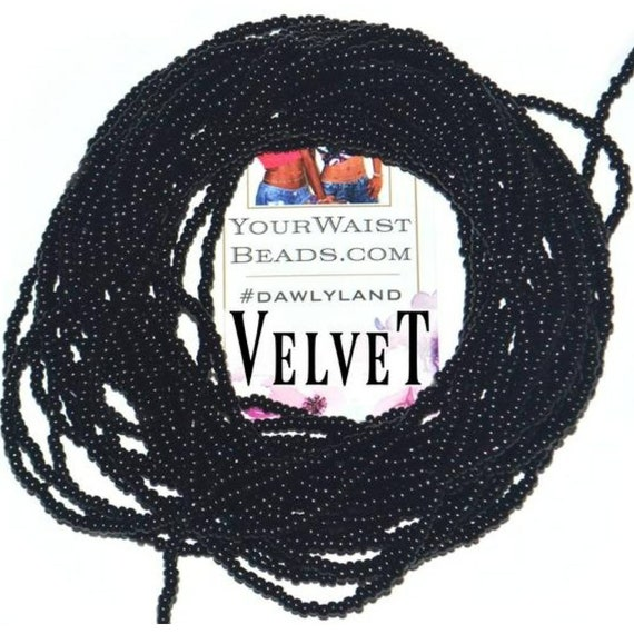 Velvet ~ Black Custom Waist Beads & More