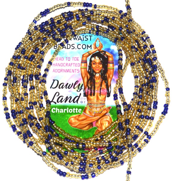 Charlotte ~ Custom Fit Waist Beads