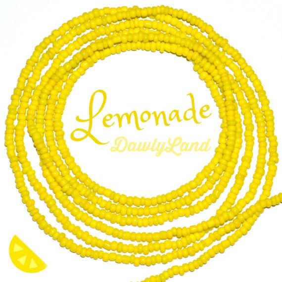 Lemonade ~ Custom Fit Waist Beads & MegaWrap Bracelets
