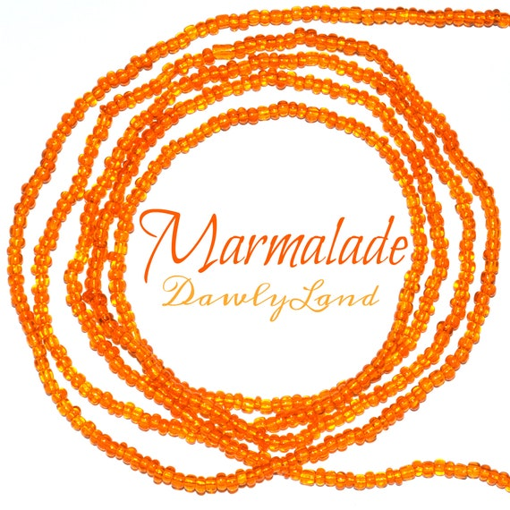 Marmalade ~ Custom Fit Waist Beads & Mega Wraps