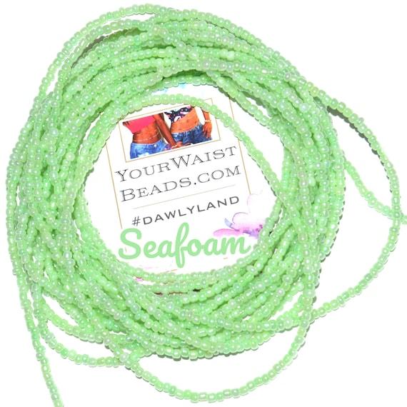 Waist Beads & More ~ Seafoam ~ Bracelet Anklet or #Beadkini