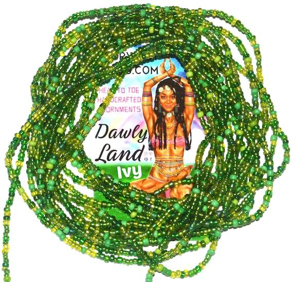 Ivy ~ Custom Fit Waist Beads & Mega Wraps
