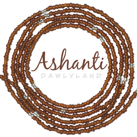 Ashanti ~ Custom Fit Waist Beads & Mega Wraps