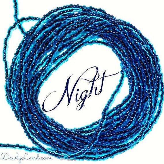 Waist Beads & More ~Night ~ YourWaistBeads.com LAST ONE