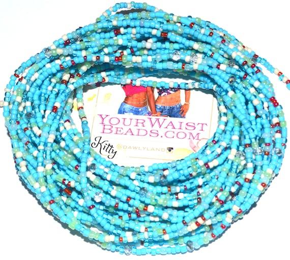 Waist Beads & More ~ Kitty ~ YourWaistBeads.com