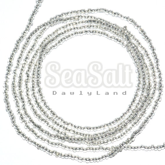Sea Salt ~ Custom Fit Waist Beads & Mega Wraps