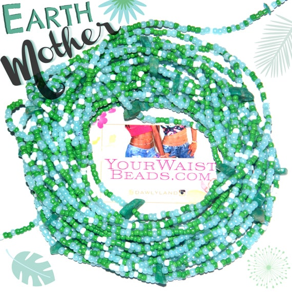 Waist Beads & More ~ EARTH MOTHER ~ YourWaistBeads.com