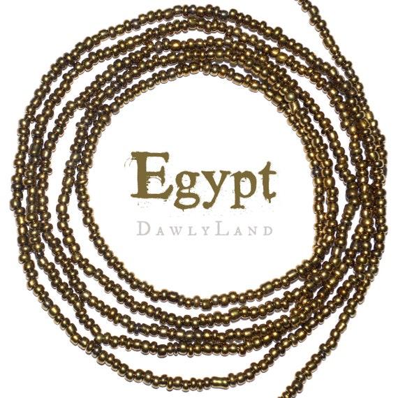 Egypt ~ Custom Fit Waist Beads or Mega Wraps