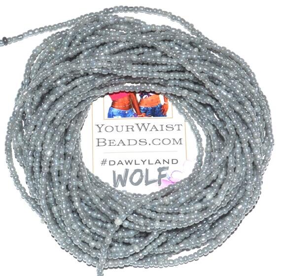 Waist Beads & More ~ Wolf ~ Bracelet Anklet or #Beadkini