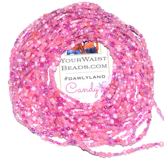 Pink Waist Beads & More ~ Candy