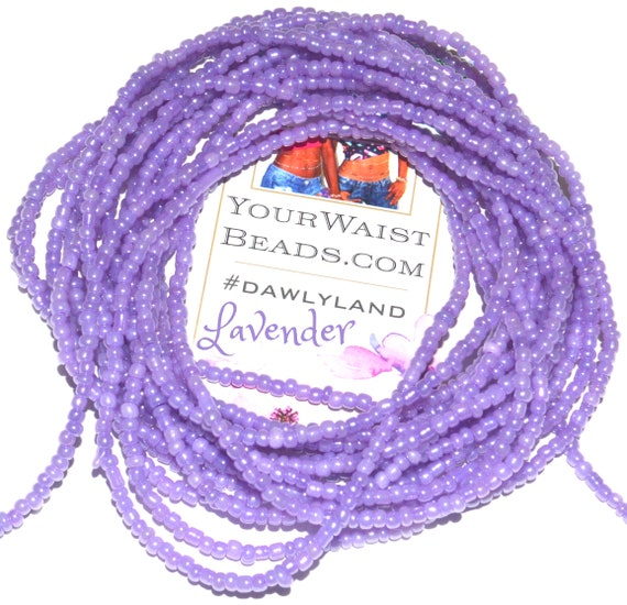 Lavender ~ Custom Waist Beads & More