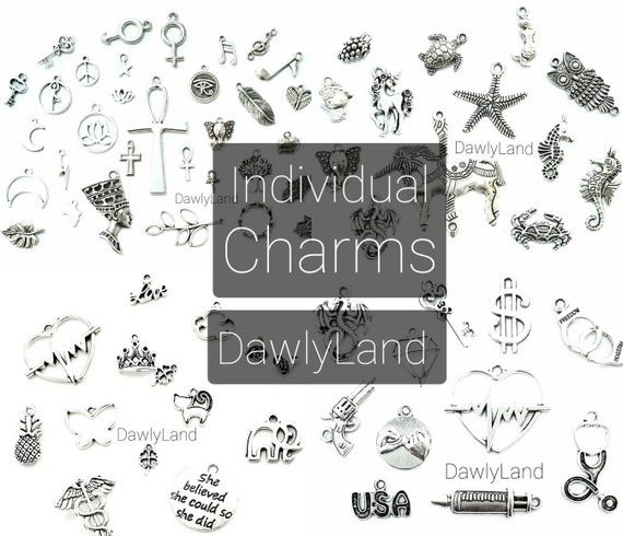 Silver Charms • Creatures & People