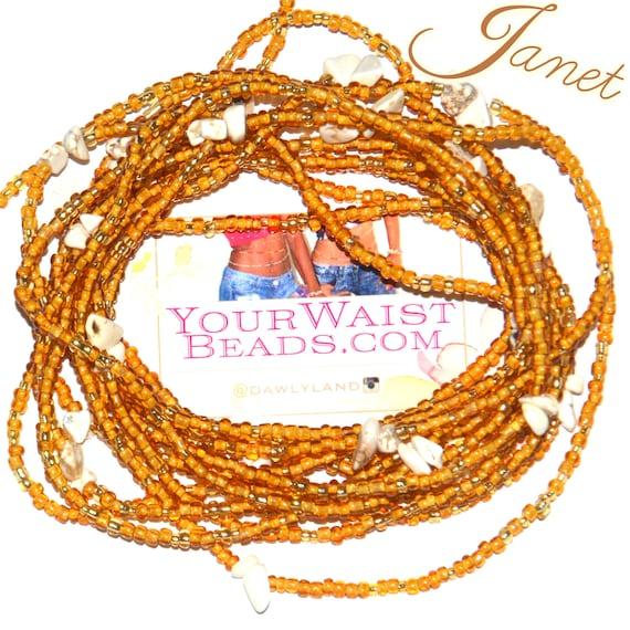 Waist Beads & More ~ JANET ~ YourWaistBeads.com