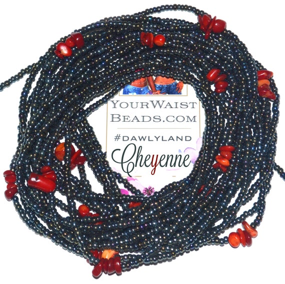 Cheyenne ~ Healing Waist Beads & More ~ with Red Sea Coral