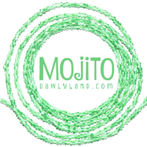 Mojito ~ Custom Fit Waist Beads or Mega Wraps