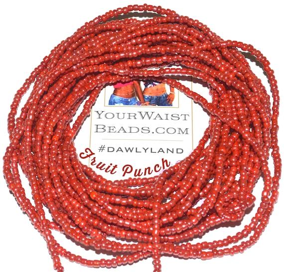 Waist Beads & More ~ Fruit Punch ~ Bracelet Anklet or #Beadkini