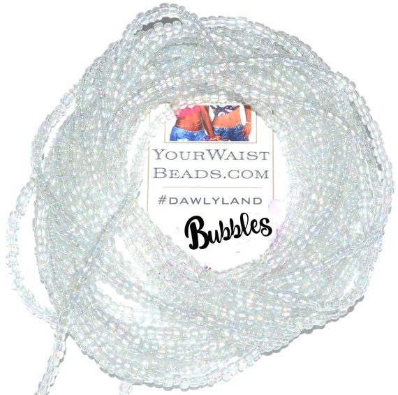 Bubbles ~ Custom Fit Waist Beads