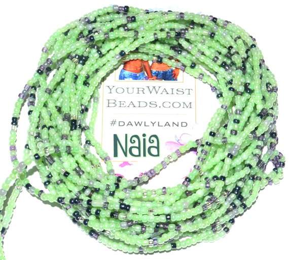 Waist Beads & More ~ Naia ~ YourWaistBeads.com