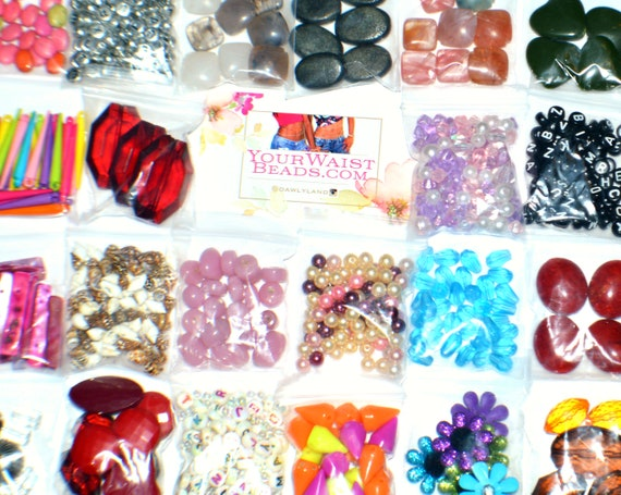 Accent & Spacer Beads Grab Bags 10 pcs - Custom Mixes by DawlyLand