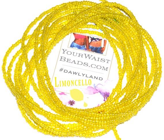 Waist Beads & More ~ Limoncello ~ Bracelet Anklet or #Beadkini