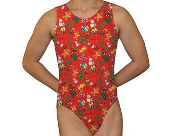 fac00ef7dd91 Gymnastics Leotard Girls Bodysuit Dance Leotard Fish Scale