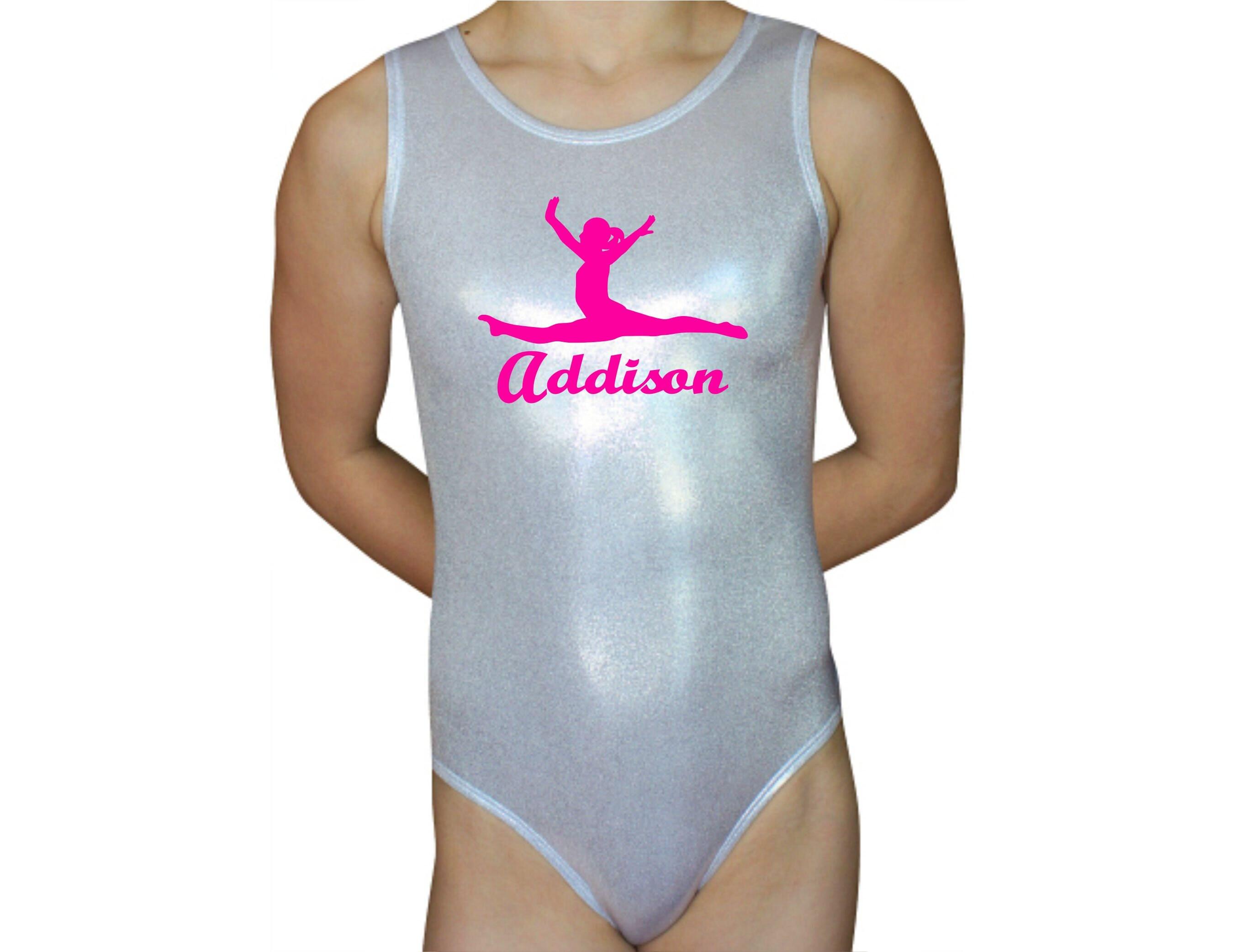 aa650adf0 Gymnastics Leotard Girls Bodysuit Dance Leotard Personalized