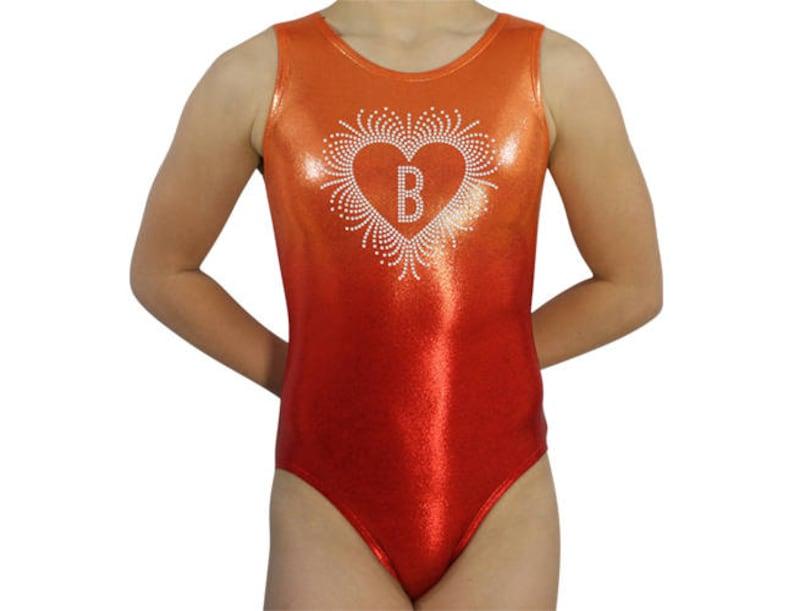 3e096fa2f61 Gymnastics Leotard Girls Bodysuit Dance Leotard Personalized