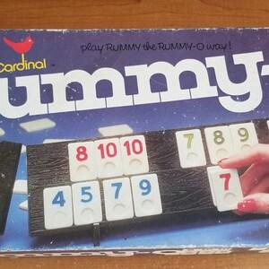 RUMMY-O TIN CASE Cardinal For Kids Children Boy Girls Xmas Christmas Birthday AS