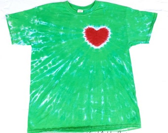c85f9a9e Inspired by Grinch Shirt Grinch Heart Christmas Party Shirt Tie Dye Adult  Sizes